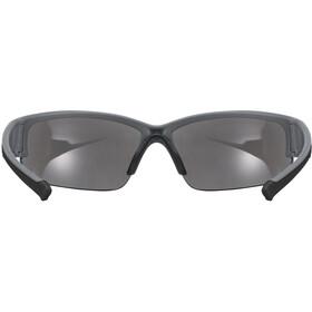 UVEX Sportstyle 215 Glasses grey matt/litemirror silver
